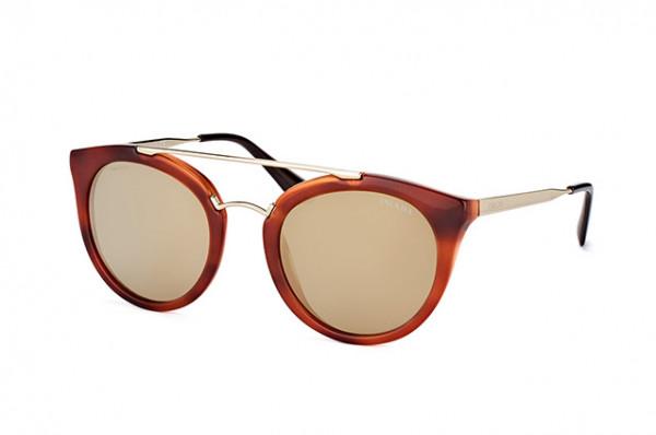PRADA Prada Damen Sonnenbrille »CINEMA PR 23SS«, braun, UAO6O2 - braun/lila